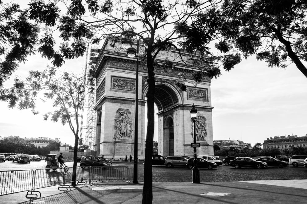 L'Arc de triomphe, Paris - photographie numérique, 2014