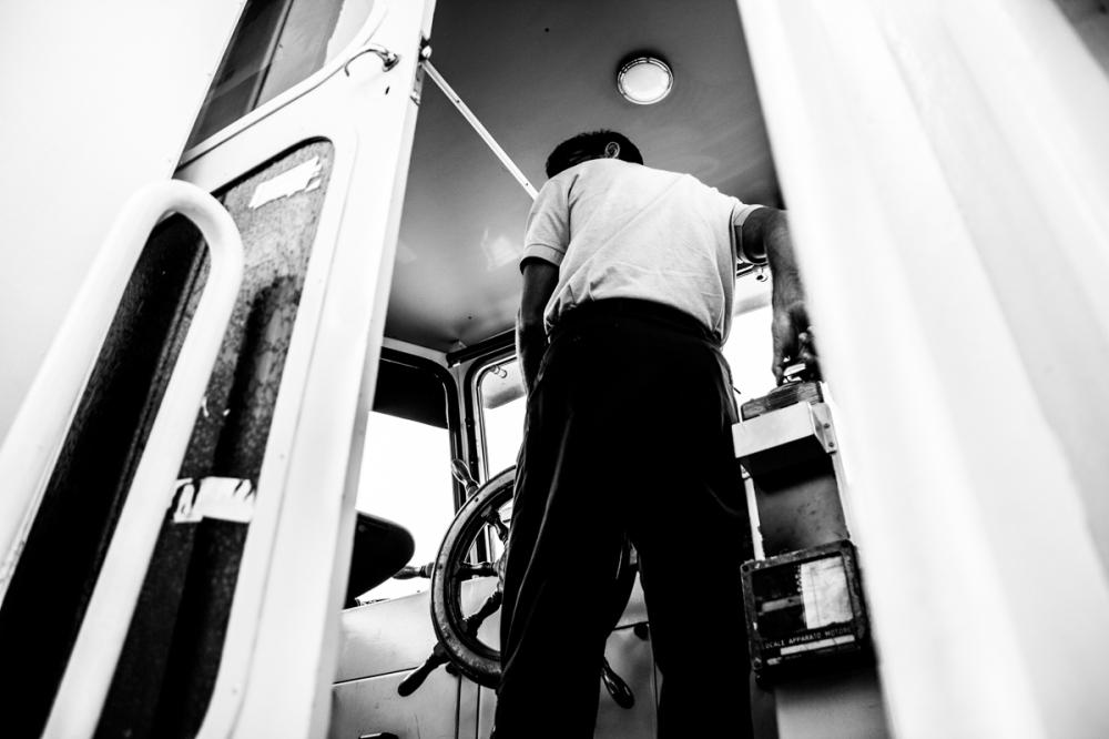 Les fesses du chauffeur, Venise - photographie numérique, 2014